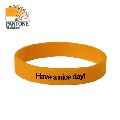 Picture of SILICON WRIST BAND in Yellow