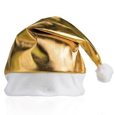 Picture of METALLIC FATHER CHRISTMAS SANTA HAT