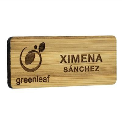 Picture of BAMBOO NAME BADGE