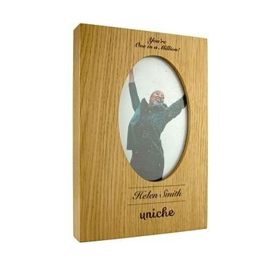 Picture of LARGE OAK PHOTO FRAME