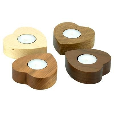 Picture of SMALL HEART TEA LIGHT HOLDER - SET OF 4