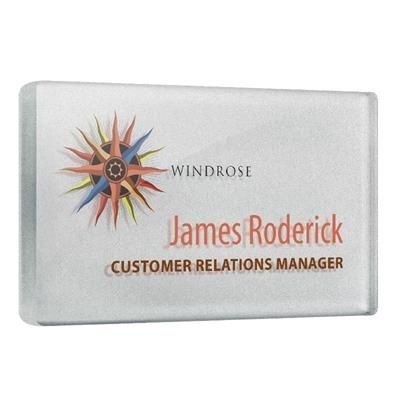 Picture of ACRYLIC PERSONALISED NAME BADGE