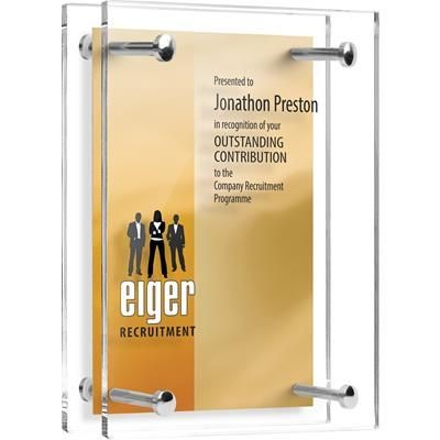 Picture of ACRYLIC PILLAR TROPHY AWARD