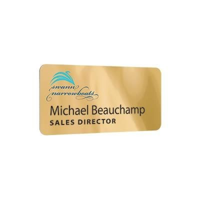 Picture of METAL PERSONALISED NAME BADGE