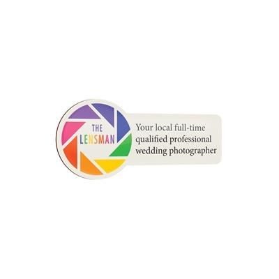 Picture of BESPOKE PLASTIC PROMOTIONAL BADGE LARGE