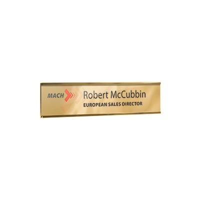 Picture of METAL WALL OR DOOR NAMEPLATE HOLDER