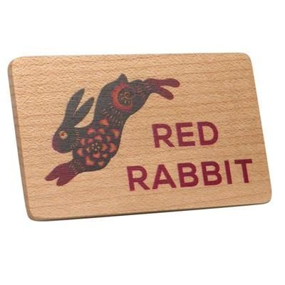 Picture of REAL WOOD FRIDGE MAGNET