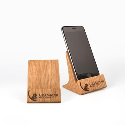Picture of REAL WOOD UPRIGHT PHONE STAND