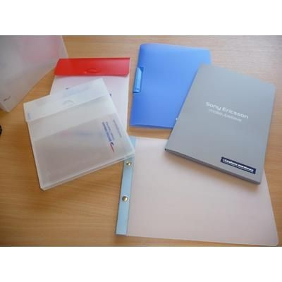 Picture of A4 POLYPROPYLENE PRESENTATION BOX with Thumb Cut Fastener