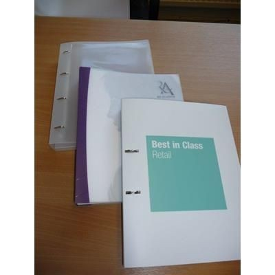 Picture of A4 POLYPROPYLENE RING BINDER