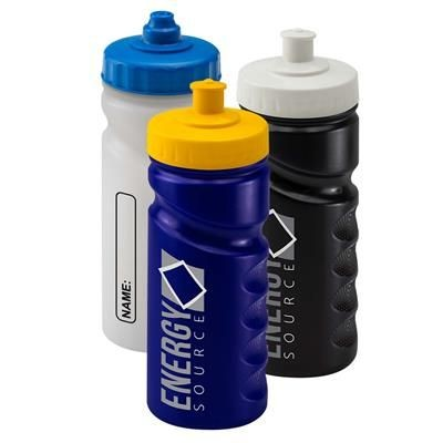 Picture of PLASTIC SPORTS DRINK BOTTLE with Finger Grip
