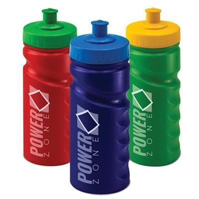 Picture of 500ML RECYCLED SPORTS DRINK BOTTLE in Black