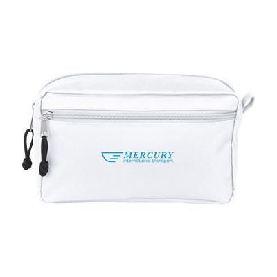Picture of STACEY TOILETRY BAG in White