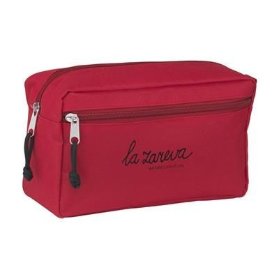 Picture of STACEY TOILETRY BAG in Red
