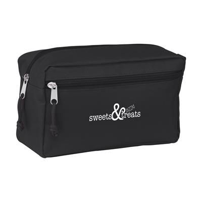 Picture of STACEY TOILETRY BAG in Black