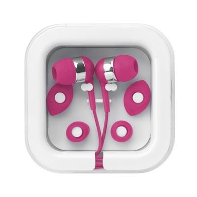 Picture of PROMO EARS EARPHONES in Magenta