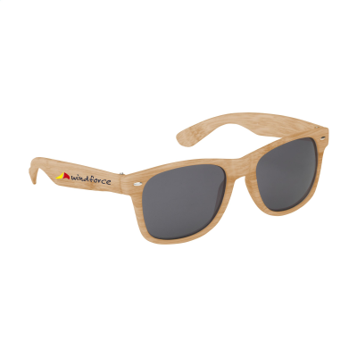 Picture of LOOKING BAMBOO SUNGLASSES in Wood