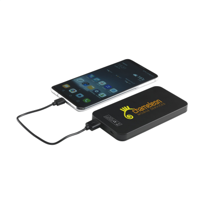 Picture of SOLAR POWERBANK 4000 POWER CHARGER in Black