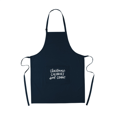 Picture of COCINA 180G APRON in Dark Blue