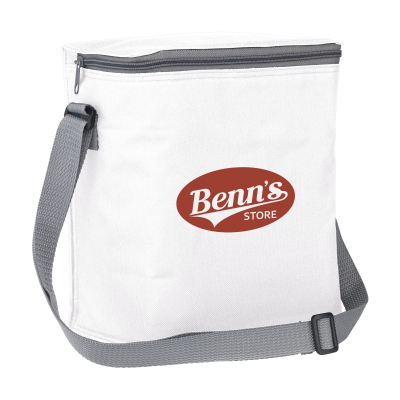 Picture of FRESHCOOLER 12 PACK COOL BAG in White