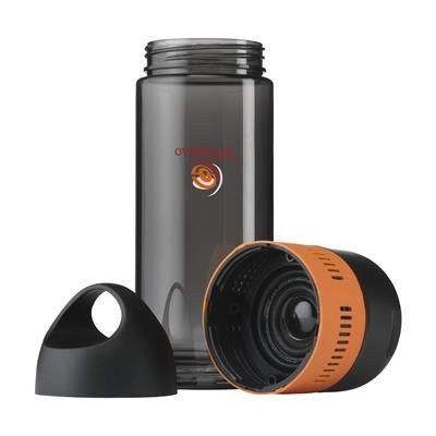 Picture of BOTTLEBEATZ TRITAN 2-IN-1 DRINK BOTTLE with Speaker in Orange