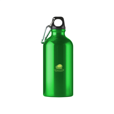 Picture of ALUMINI 500 ML ALUMINIUM METAL WATER BOTTLE in Dark Green