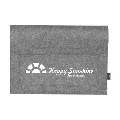 Picture of PAPILLON RPET LAPTOP CASE in Light Grey