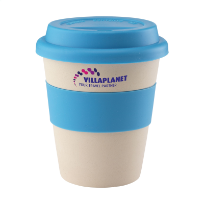 Picture of ECO BAMBOO MUG-TO-GO CUP in Light Blue