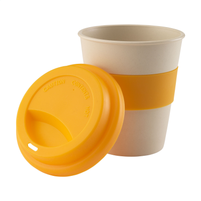 Picture of ECO BAMBOO MUG-TO-GO CUP in Orange