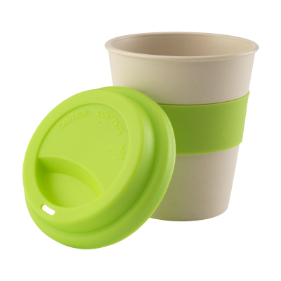 Picture of ECO BAMBOO MUG-TO-GO CUP in Lime
