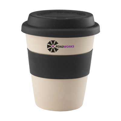 Picture of ECO BAMBOO MUG-TO-GO CUP in Black