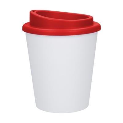 Picture of COFFEE MUG PREMIUM SMALL COFFEE MUG in Red