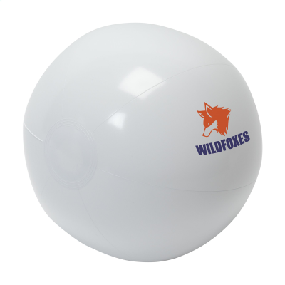 Picture of BEACHBALL SOLID 40CM in White