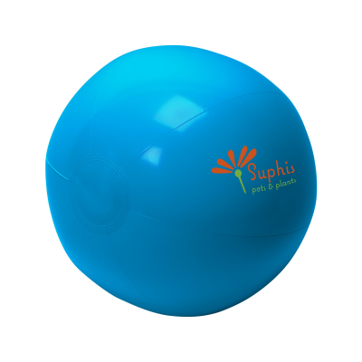 Picture of BEACHBALL SOLID 40 CM in Blue