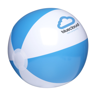 Picture of BEACHBALL 28 CM in White-blue