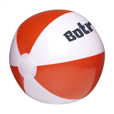 Picture of BEACHBALL 28 CM in White-red