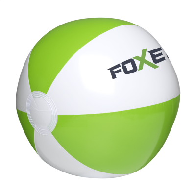 Picture of BEACHBALL 28CM in White & Green