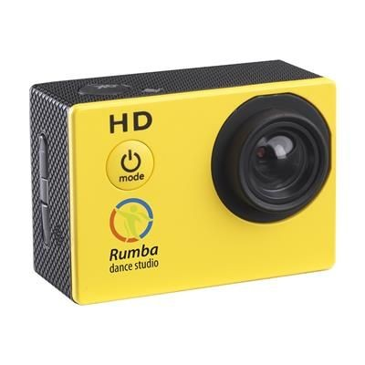 Picture of FICTION ACTIONCAM ACTION CAMERA in Yellow