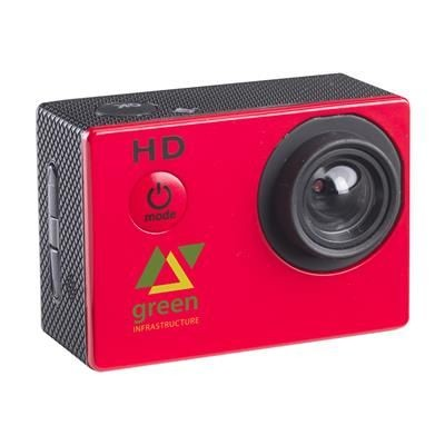 Picture of FICTION ACTIONCAM ACTION CAMERA in Red