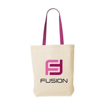 Picture of CANVAS SHOPPY COLOUR 220G BAG in Magenta