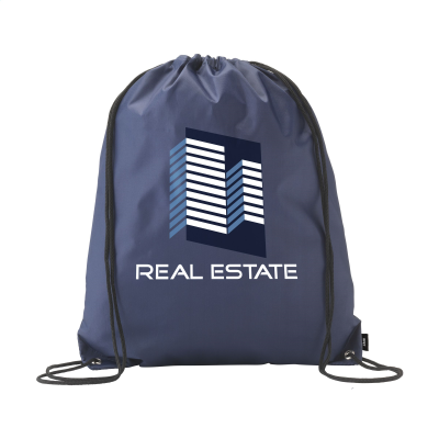 Picture of PROMO RPET BACKPACK RUCKSACK in Navy