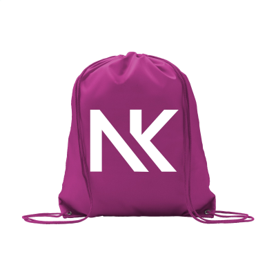 Picture of PROMO 210D BACKPACK RUCKSACK in Magenta