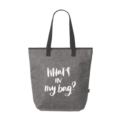 Picture of FELTRO RPET COOL BAG in Grey