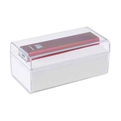 Picture of CLEAR TRANSPARENT GIFT BOX in Clear Transparent