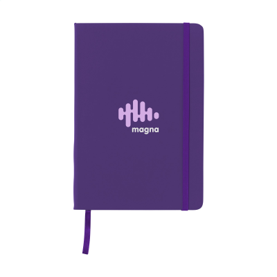 Picture of BUDGETNOTE A5 LINES in Purple