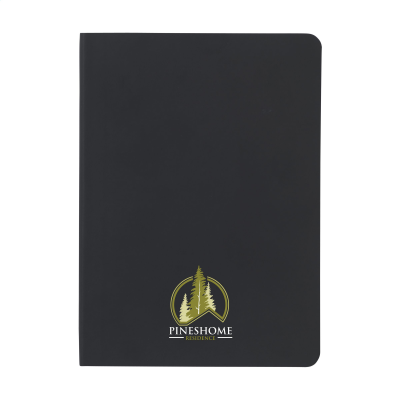 Picture of SOFTCOVER NOTE BOOK in Black