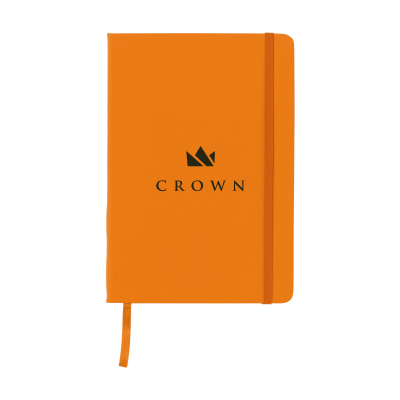 Picture of BUDGETNOTE A5 BLANC in Orange