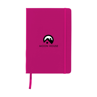 Picture of BUDGETNOTE A5 BLANC in Magenta