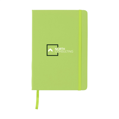 Picture of BUDGETNOTE A5 BLANC in Lime