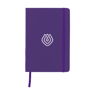 Picture of BUDGETNOTE A5 BLANC in Purple